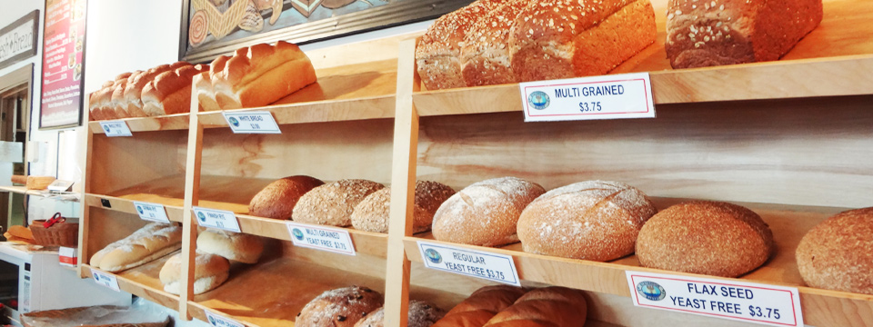 Fresh Baked Bread Daily at Steveston Bakery