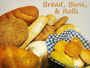 Freshly Baked Breads, Buns, and Rolls at Steveston Bakery