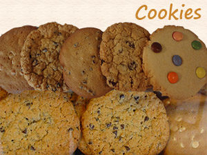 Cookies at Steveston Bakery
