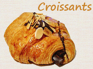 Croissants at Steveston Bakery