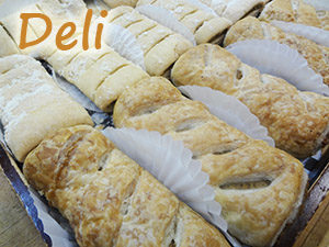 Deli Items at Steveston Bakery