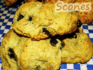 Scones at Steveston Bakery