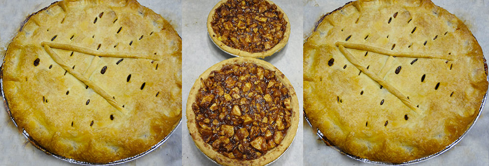 Apple Pie at Steveston Bakery