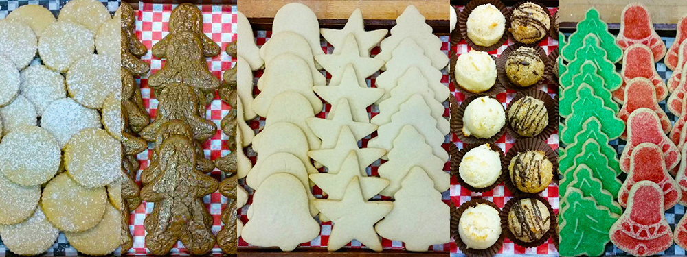 Christmas Cookies ~ Buttery Shortbread, Gooey Gingerbread, Homemade Sugar Cookies, Macaroons