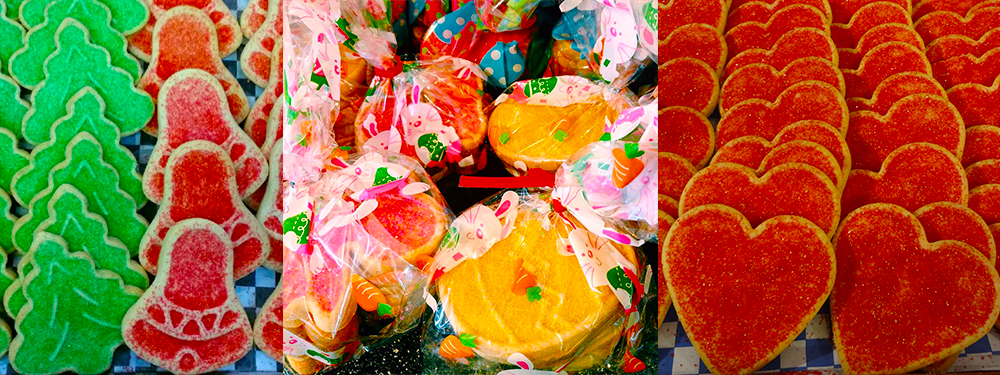 Seasonal Sugar Cookies available at Steveston Bakery