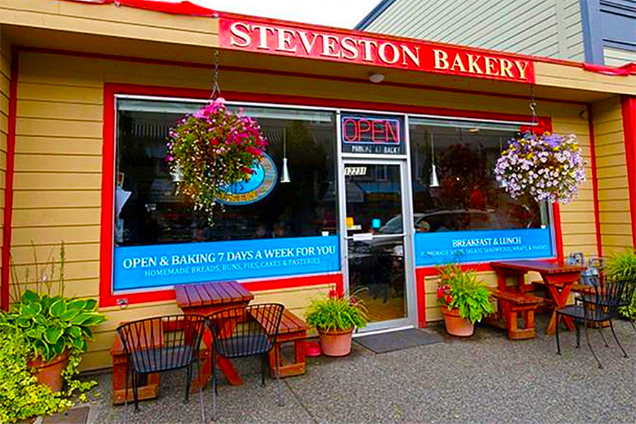 Contact Steveston Bakery